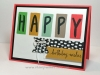 layered letters birthday