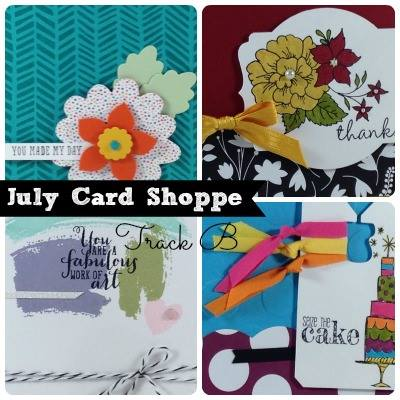 July Shoppe Track B Ad