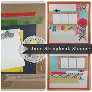 June Scrapbook Ad