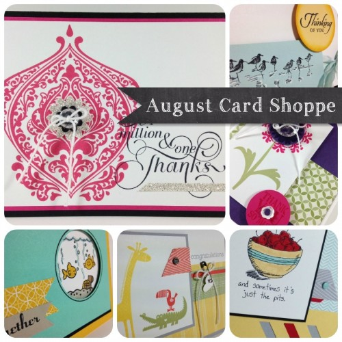 August Stamp Shoppe Ad