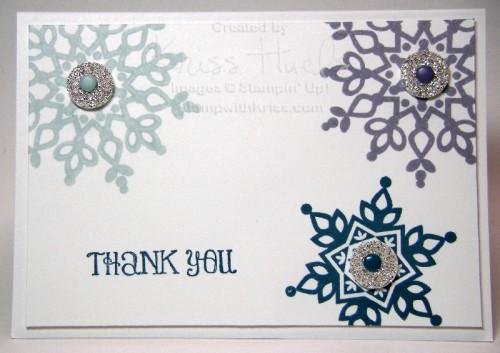 Snowflake Thank You