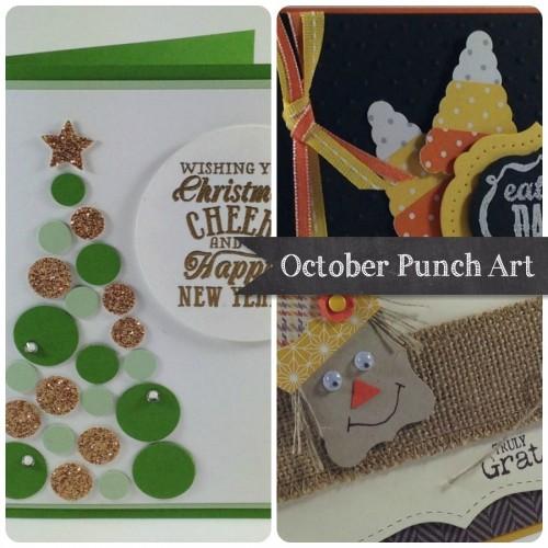 October Punch Art Ad