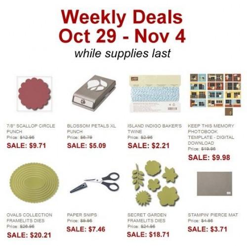 Weekly Deals 10_29