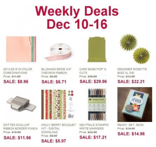 Weekly Deals Dec 10-16