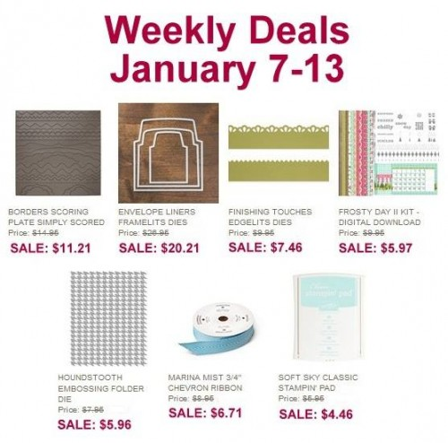 Weekly Deals Jan