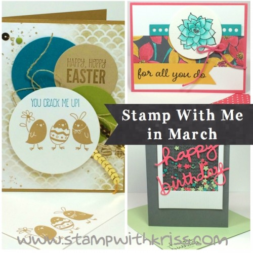 March Stamping Class