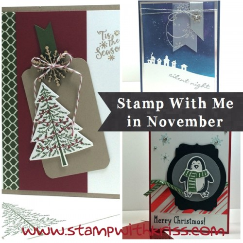 November Stamp With Me class