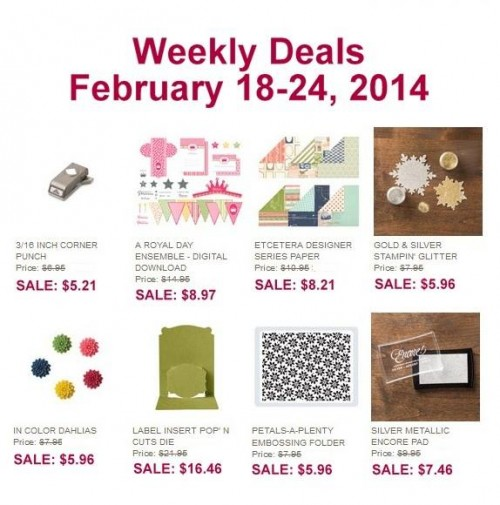 Weekly Deal Feb 18