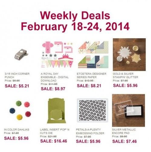 Weekly Deal Feb 18