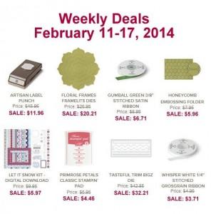 Weekly Deals Feb. 11