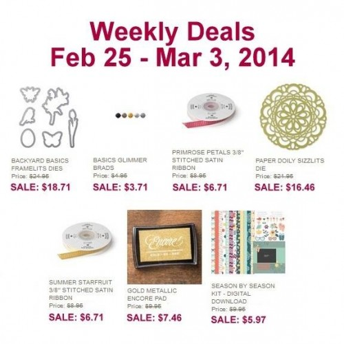 Weekly Deals Feb. 25