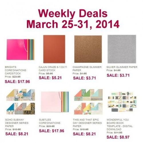 Weekly Deal Mar 25