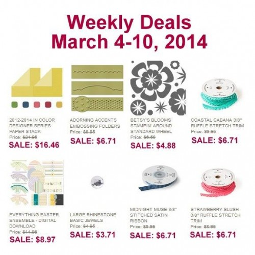 Weekly Deals Mar 4-10