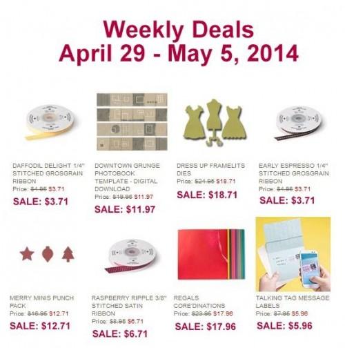 Weekly Deals Apr 29