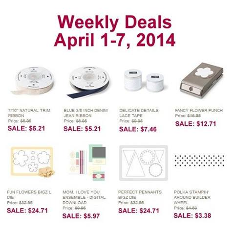 Weekly Deals April 1-6