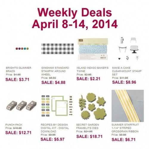 weekly deals Apr 8-14