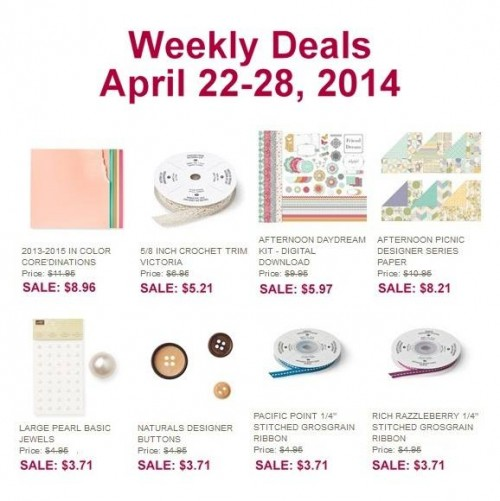 weekly deals April 22-29