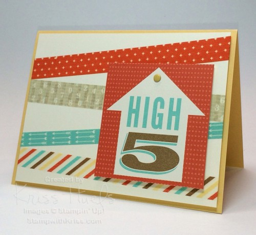 Retro Fresh Journaling Tags for cards