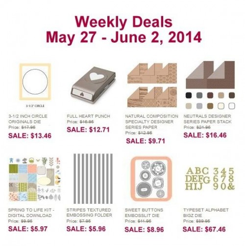 weekly deals May 27 - June 2