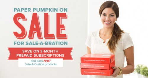 Paper Pumpkin sale