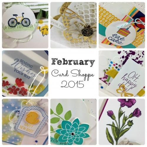 February Card Shoppe 2015