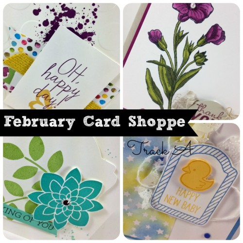 February Card Shoppe Track A Ad