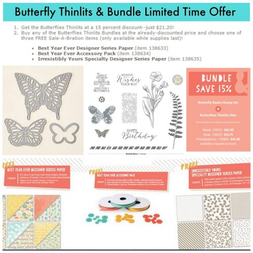 buttterfly thinlits bundle offer