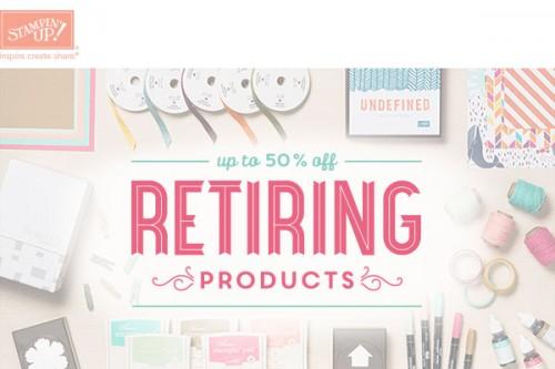 header retiring product
