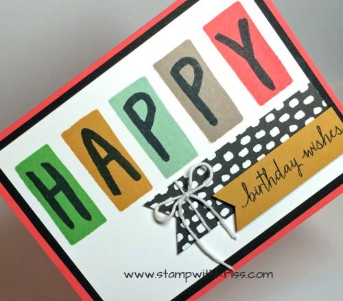 Happy Birthday Wishes closeup