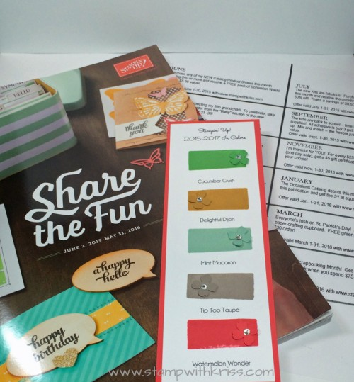 New catalog goodie package picture