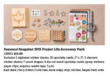 Seasonal Snapshot 2015 PL Accessory Pack
