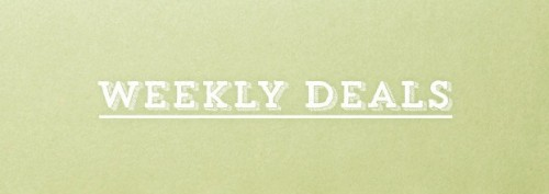 Weekly Deals logo