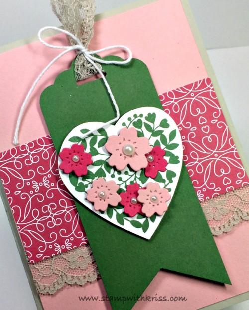 Bloomin Love Valentine closeup