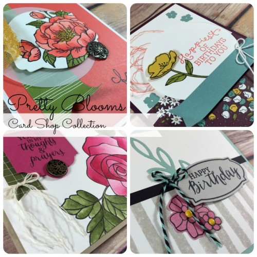 Pretty Blooms Card Shop Collection Ad