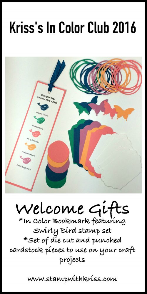 In Color Club Gifts Collage