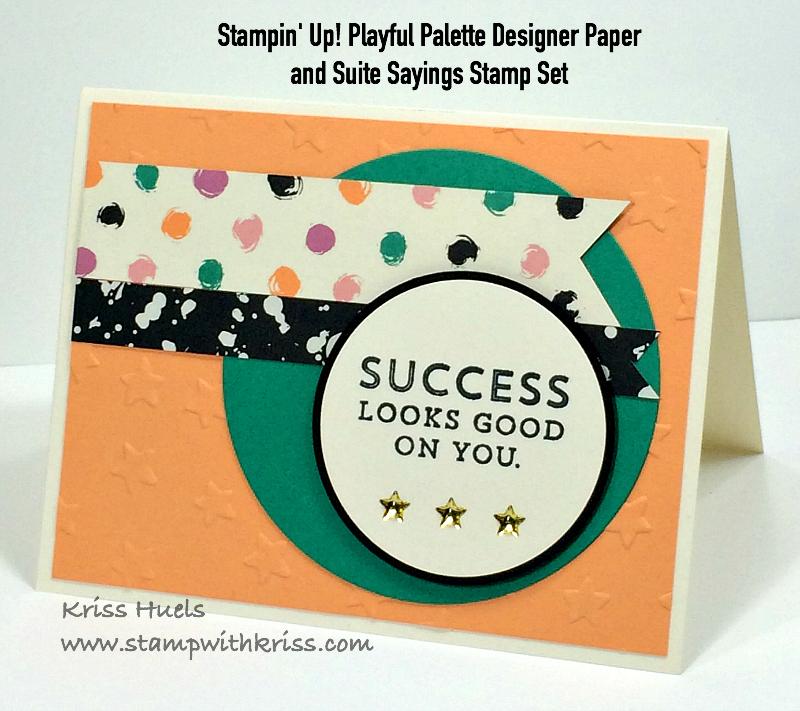 Stampin Up WASHI TAPE PLAYFUL PALETTE Designer NEW 25 Yards Total
